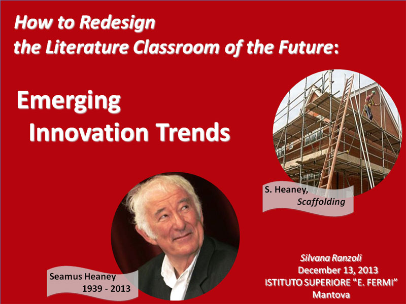 How to Redesign the Literature Classroom of the Future: Emerging Innovation Trends